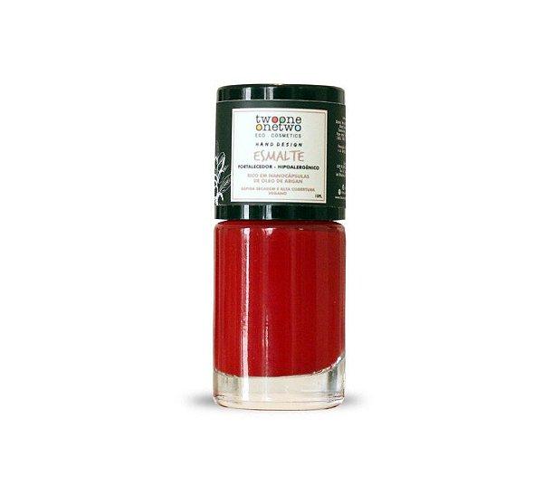 609 - Esmalte Hipoalergênico Samba - 10 ml - Vegano e Natural - TWOONE ONETWO