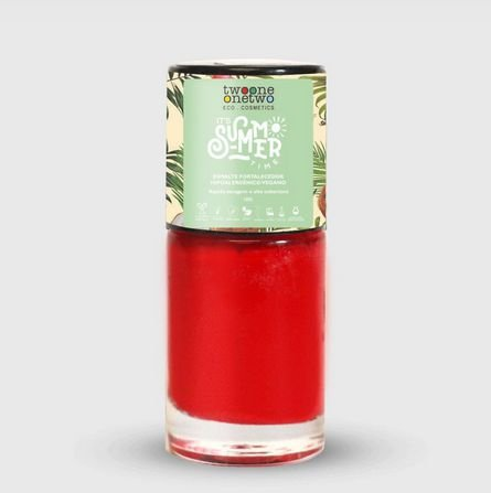 631 - Esmalte Hipoalergênico Flame Scarlet - 10 ml - Vegano e Natural - TWOONE ONETWO