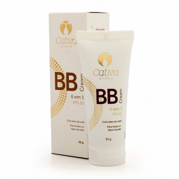 BB Cream Cor nº 2 Orgânico Natural e Vegano 30g - CATIVA NATUREZA