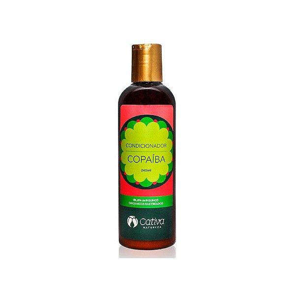 Condicionador Copaíba Natural Orgânico e Vegano 240 ml - CATIVA NATUREZA
