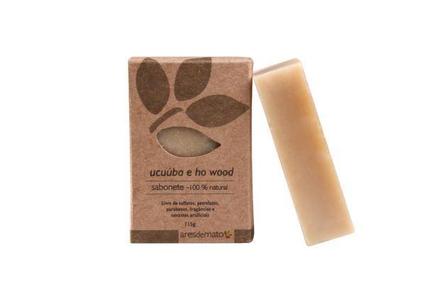 Sabonete de Ucuúba e Ho Wood 115g - Vegano e Natural - Ares de Mato
