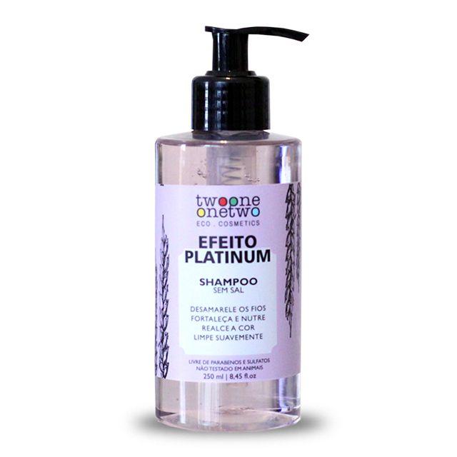 Shampoo Efeito Platinum Violet Flowers  - 250ml Vegano e Natural - TWOONE ONETWO
