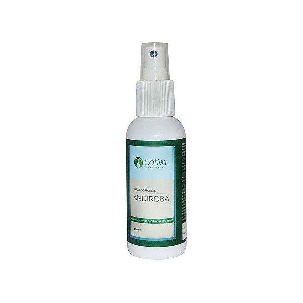 Spray Repelente Antisséptico Andiroba Natural Orgânico e Vegano 120 ml - CATIVA NATUREZA