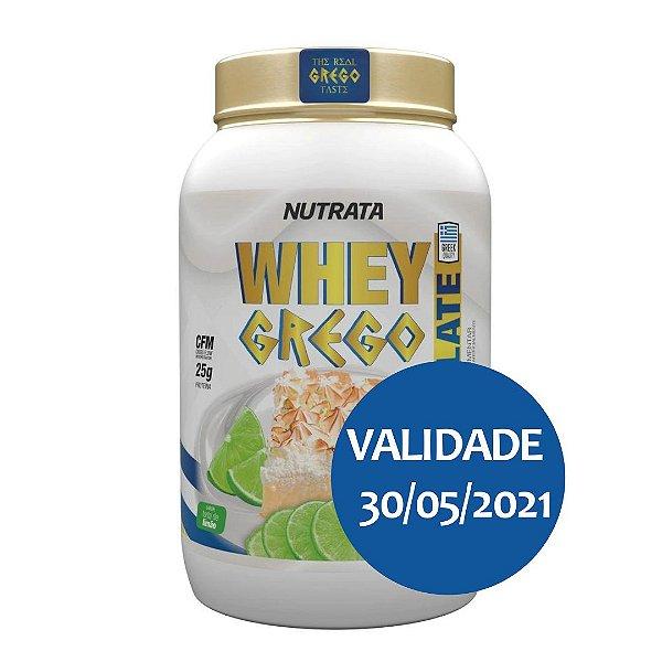 Whey Grego Isolate Torta De Limão 900G - Nutrata
