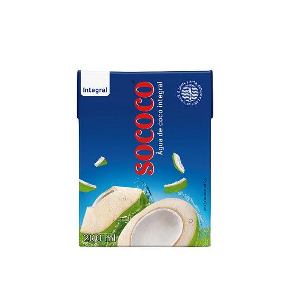 Água De Coco - Sococo 200ml