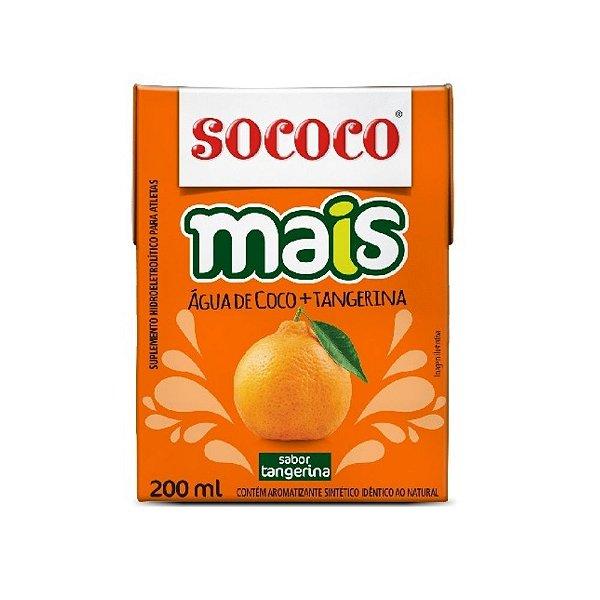 Água de Coco Mais Tangerina - Sococo 200ml