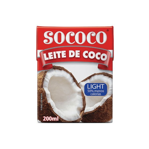 Leite De Coco Light TP -  Sococo 200ml