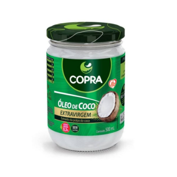 Óleo de Coco Extra Virgem - Copra 500ml