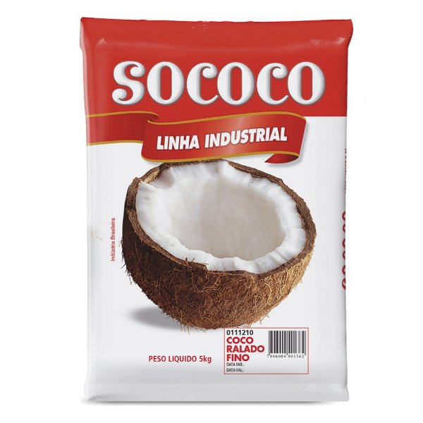 Coco Ralado Fino - Sococo 5kg