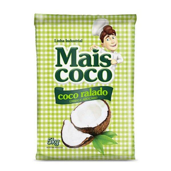 Coco Ralado Úmido e Adoçado - Mais Coco 5kg