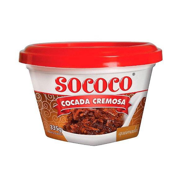 Cocada Cremosa Queimada - Sococo 335gr