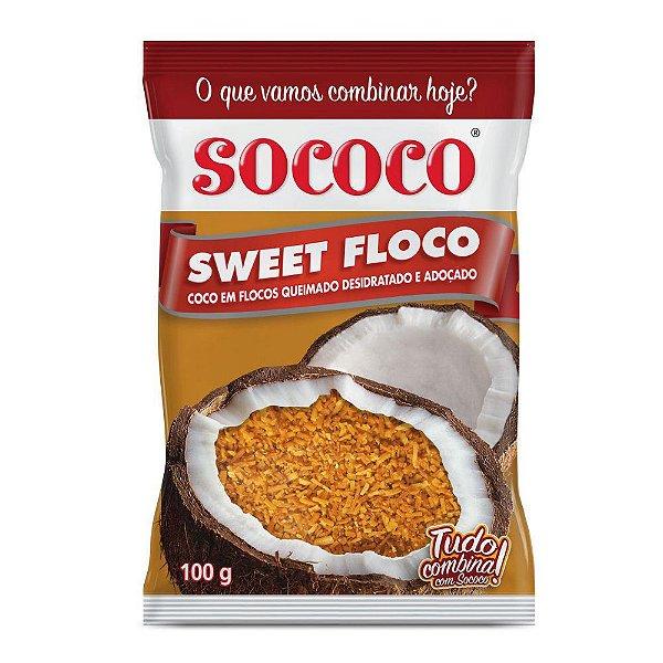Sweet Floco Queimado - Sococo 100gr
