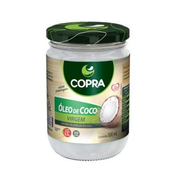 Óleo de Coco Virgem - Copra 500ml
