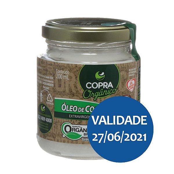 Óleo de Coco Extra Virgem Orgânico - Copra 200ml