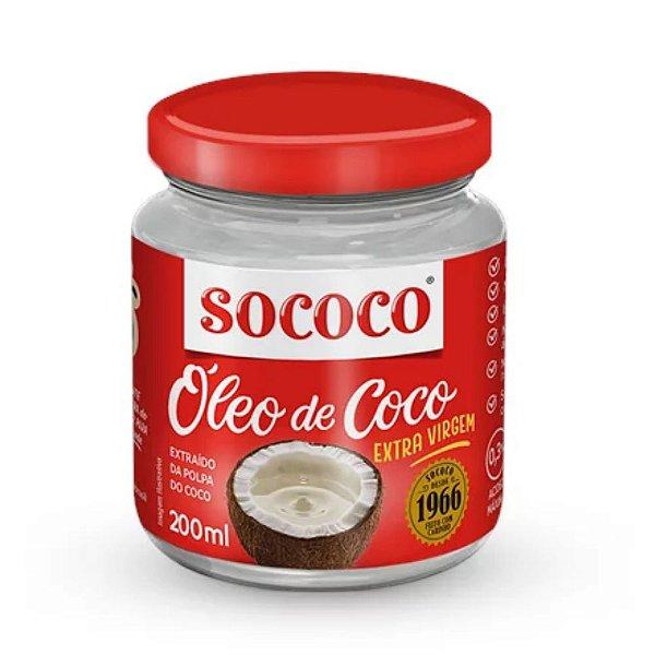 Óleo de Coco Extra Virgem - Sococo 200ml