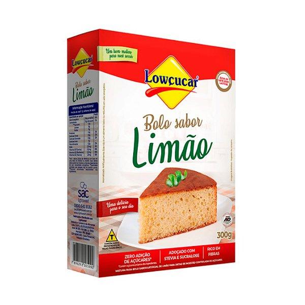 Bolo De Limão Zero - Lowçucar 300gr