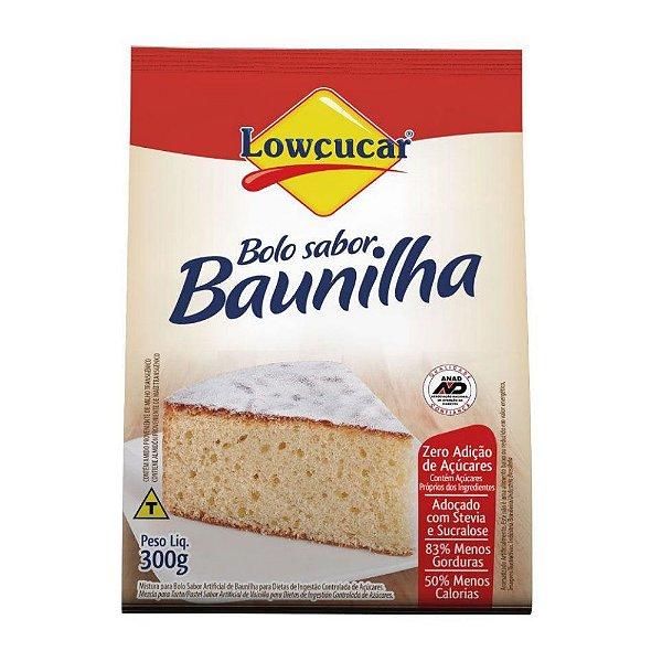 Bolo De Baunilha Zero - Lowçucar 300gr
