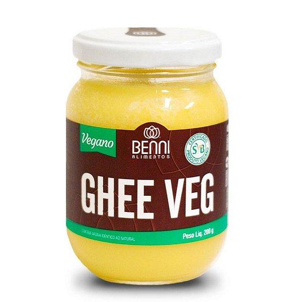 Manteiga Ghee Vegan - Benni 200gr