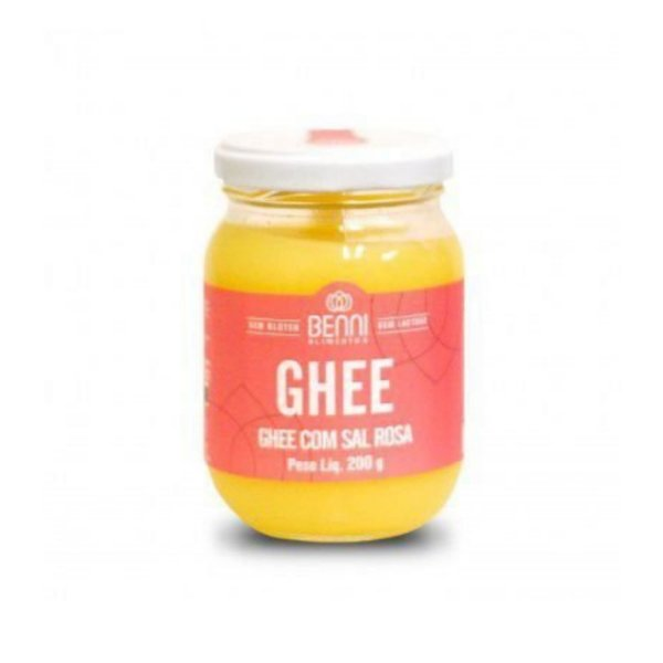 Manteiga Ghee com Sal Rosa do Himalaia - Benni 200gr