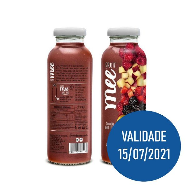 Smoothie De Frutas Berry Berry - Mee 300ml