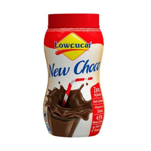 Achocolatado New Choco Zero Açúcar - Lowçucar 210gr