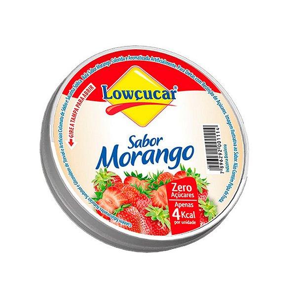 Bala De Morango Zero Açúcar - Lowçucar 32gr