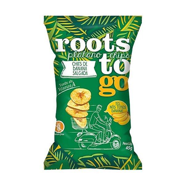 Chips Salgado de Banana - Roots To Go 45gr