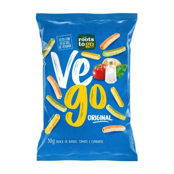 Snack Vego Original - Roots To Go 30gr