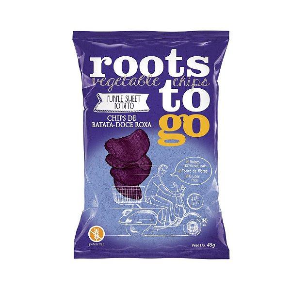 Chips de Batata Roxa - Roots to Go 45gr