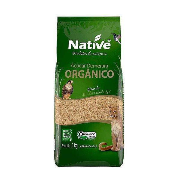 Açúcar Orgânico Demerara - Native 1kg