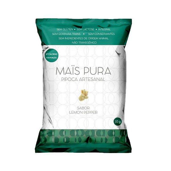 Pipoca Lemon Pepper - Mais Pura  50gr