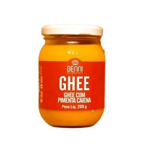 Manteiga Ghee C/ Pimenta Caiena - Benni  200gr