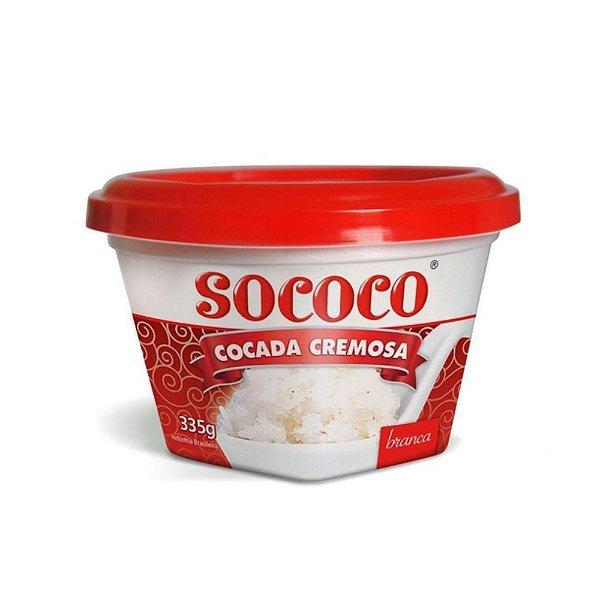 Cocada Cremosa Branca - Sococo 335gr