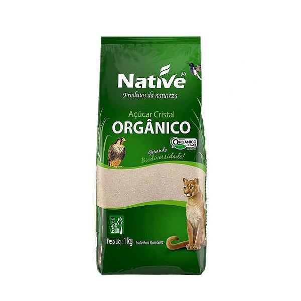 Açúcar Cristal Orgânico- Native 1kg