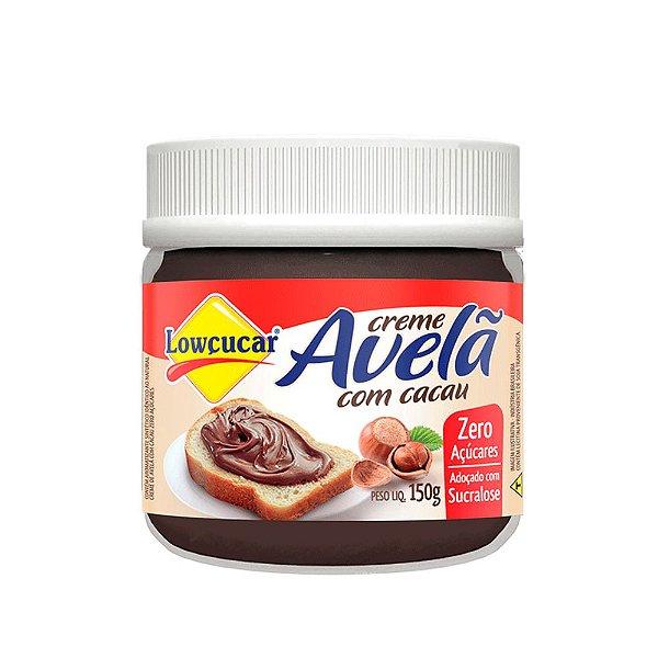 Creme de Avelã C/ Cacau Zero - Lowçucar 150gr