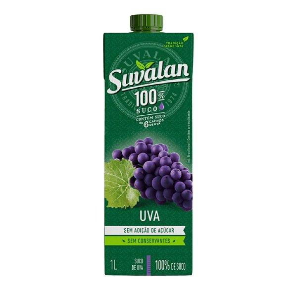 4 Unidades Suco de Uva - Suvalan 1L
