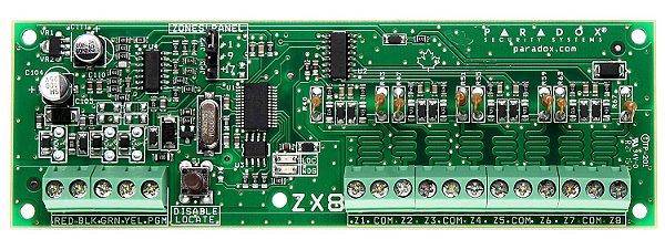 Módulo de Expansão 16 Zonas ZX8- EVO Paradox