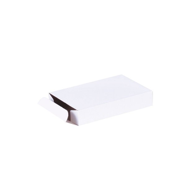 Caixa de presente 11,5x7,5x2cm - branca