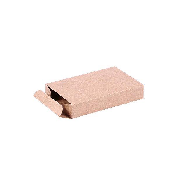 Caixa de presente 11,5x7,5x2cm - kraft