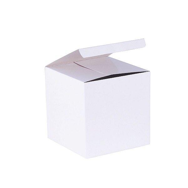 Caixa de presente 11x11x11cm - branca