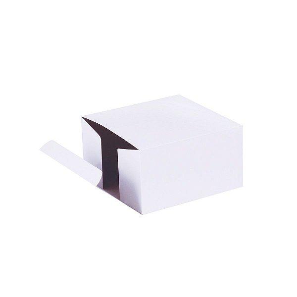 Caixa de presente 11x11x6cm - branca