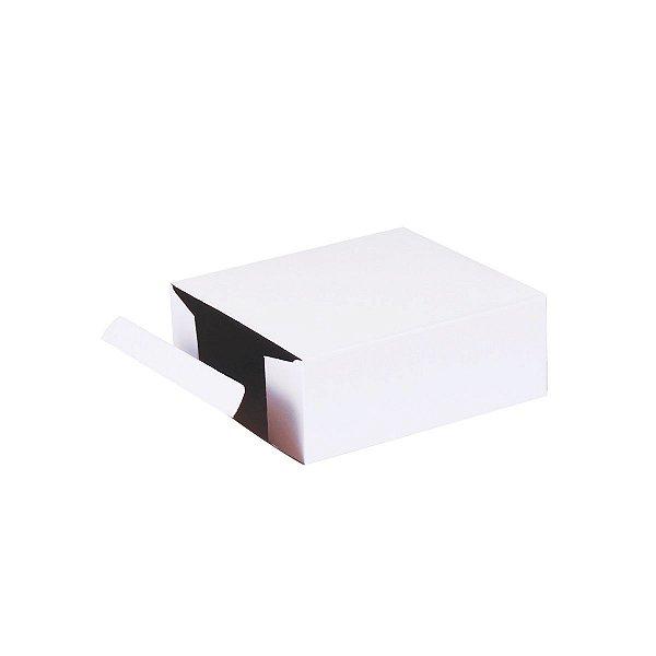 Caixa de presente 12x11x4,5cm - branca