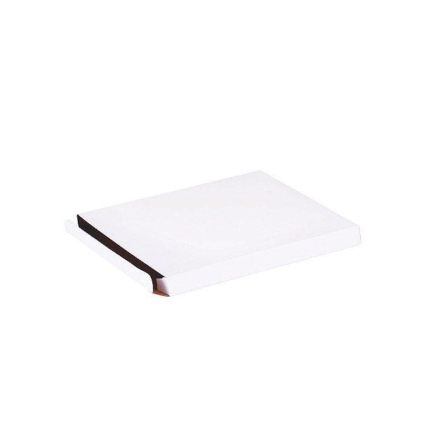 Caixa de presente 14,5x13x1,2cm - branca