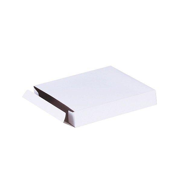 Caixa de presente 14,5x13x2,5cm - branca