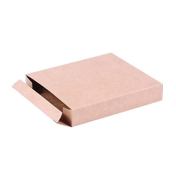 Caixa de presente 14,5x13x2,5cm - kraft