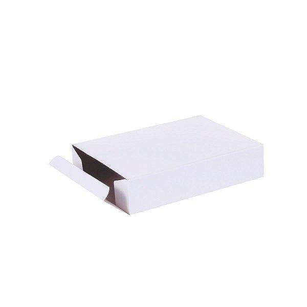 Caixa de presente 18x13,2x4cm - branca