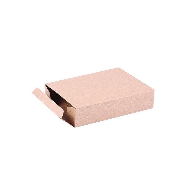 Caixa de presente 18x13,2x4cm - kraft