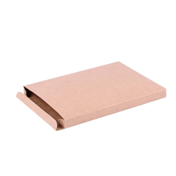 Caixa de presente 19x1,4x15cm - kraft