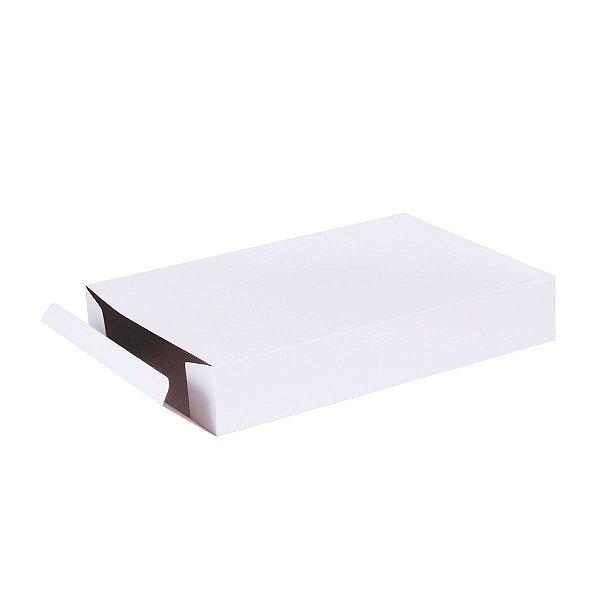 Caixa de presente 25x14x4cm - branca
