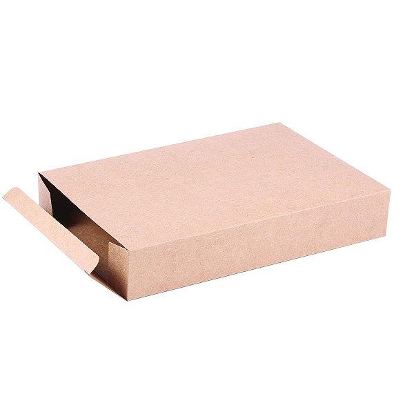 Caixa de presente 26x17,5x4,5cm - kraft